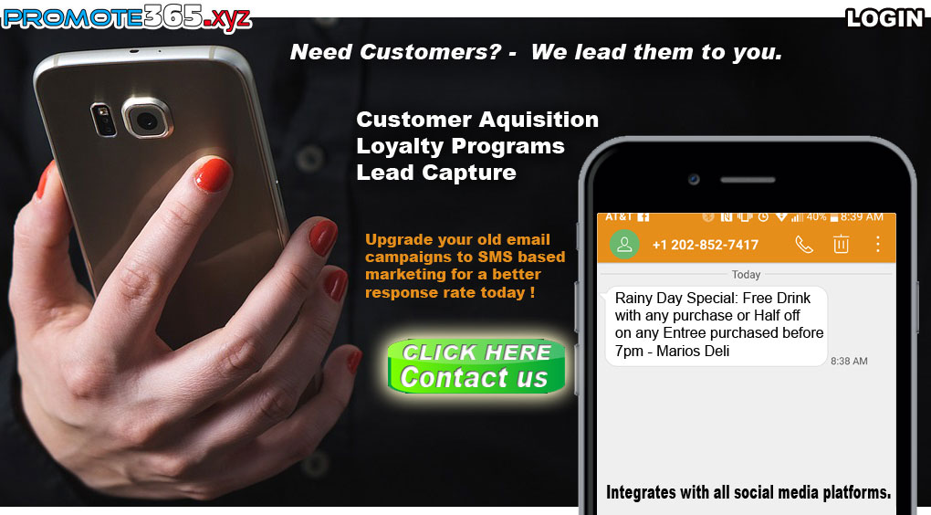 Promote365.xyz - The Masters of Cell Based Marketing